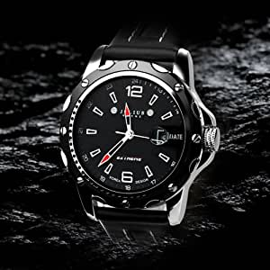 New JULIUS® Exquisite Calendar Man Watch, Gift Idea - All Black