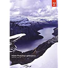 Adobe Photoshop Lightroom 6 - Software de gráficos (Alemán, Caja, Completo, Windows 7 Enterprise,Windows 7 Enterprise x64,Windows 7 Home Basic,Windows 7 Home Basic..., Mac OS X 10.7 Lion,Mac OS X 10.8 Mountain Lion,Mac OS X 10.9 Mavericks, Win/Mac)