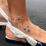 TAOtTAO Little Star Frauen Kette Knöchel Armband Barfuß Sandale Strand Fuß Schmuck