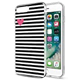 Eouine Coque iPhone 8, Etui en Silicone 3D Transparente avec Motif [Anti Choc] Gel...