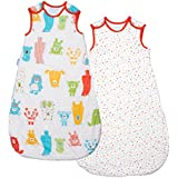 The Gro Company Grobag Wash and Wear Spotty Bear (1.0 Tog, 6-18 Months)