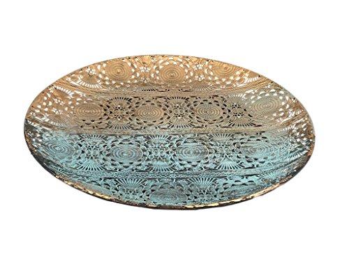 Orientalischer Deko Teller aus Metall