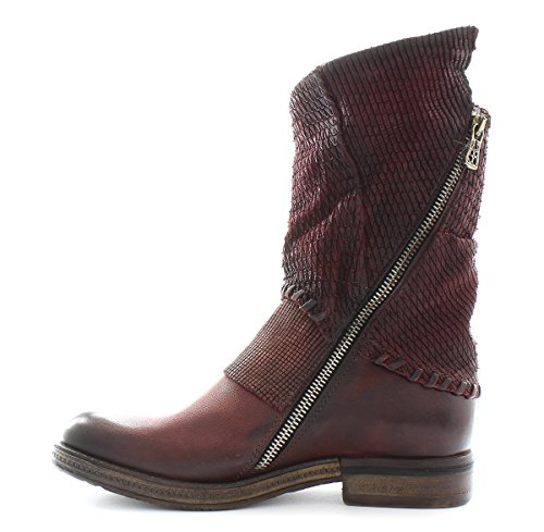 A.S.98 Bottine Vertical 818205-202 Amaranto Airstep as98 Rouge