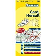 Carte DPARTEMENTS Gard, Hrault de Collectif Michelin ( 12 mars 2008 )