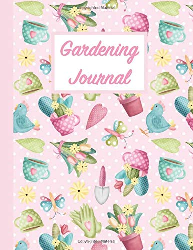 Zoom IMG-2 gardening journal beautifully illustrated cover