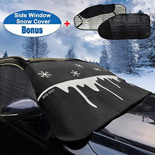 Windschutzscheibenabdeckung Abdeckplane Auto Autoabdeckung Frontscheibe Abdeckung für Meisten Auto SUVs PKW im Winter und Sommer