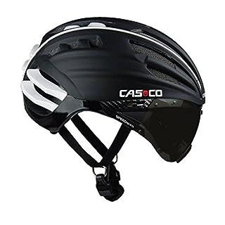 Casco Erwachsene Helm Speedairo, Schwarz, M(54-58 cm)