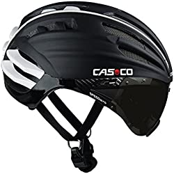 CasCo SPEEDairo - Casco de velocidad de ciclismo unisex, color negro, talla M