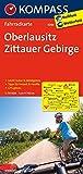 Oberlausitz - Zittauer Gebirge: Fahrradkarte. GPS-genau. 1:70000: Fietskaart 1:70 000 (KOMPASS-Fahrradkarten Deutschland, Band 3086)
