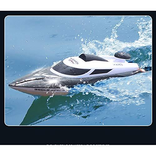 AIOJY Hochgeschwindigkeitsfähre Schnellboot Fernbedienung Boot 2.4G Wassermodell Flugzeug Spielzeug Wasserzyklus Schiff über Reset Kind Erwachsene Bunte Lichter Schiffe Lade 35KM / h Wettbewerb U-Boot