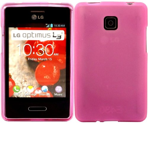 Katinkas Soft Gel Cover for LG L3 II, Magenta