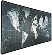 WORLD Mouse Pad Extended Large, Gaming Mouse Pad, Desk Accessories For Men, Computer Keyboard, Pc And Laptop,