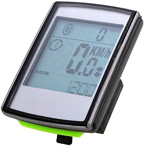 Fahrrad-Wireless-Code Meter Leucht Odometer Universal-Fahrradtacho Reittisch jidesheying