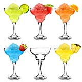 City Margarita Cocktail Glasses 12.7oz / 360ml - Pack of 6 - Gift Boxed Coupe Glassware