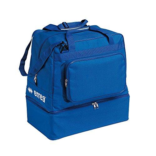 Errea borsa basic calcio azzurra con fondo rigido nd