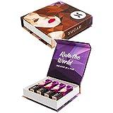"SUGAR Cosmetics It'S A-Pout Time! ""Cool Classics"" Vivid Lipstick Gift Box"