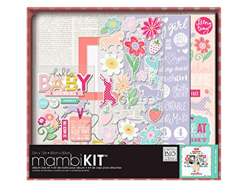 Unbekannt Me and My Big Ideas Me and My Big Ideas Boxed Album Kit 12x 12-inch-Sweet Baby Girl - Boxed Album Kit