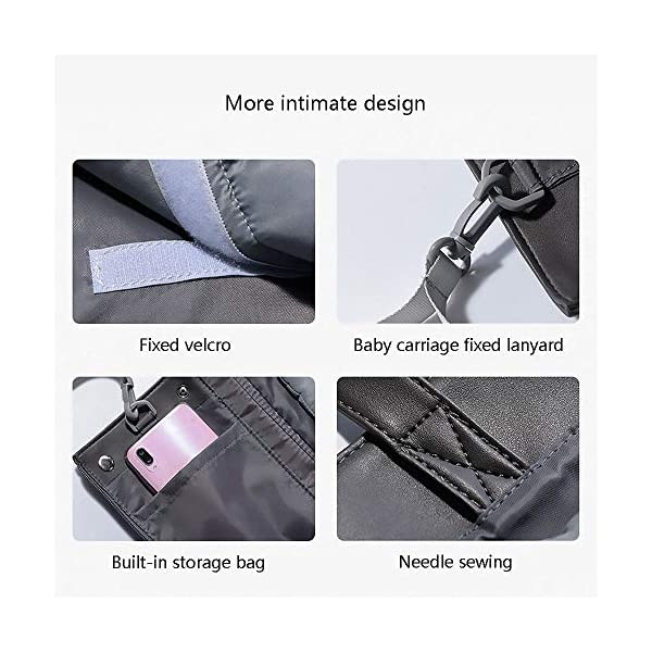 YANGGUANGBAOBEI Baby Lounger,Infant Toddler Cradle Multifunction Storage Bag, Nursery Travel Folding Baby Bed Bag YANGGUANGBAOBEI 1. Stylish and functional.Moms can have it all - a portable bassinet,a convenient portable changing station, a bag for all of baby's essentials, and chic, effortless style every day.It is the diaper bag and changing station rolled into one stylish tote 2.Moms no longer have to choose the ugly diaper bags,diaper bags can also be stylish,chic.The tote also has expention button and stroller straps.Waterproof leather and 100% cotton changing pad. 3. Roomy insert organizer.The cotton 100% Insert organizer is designed with optimal storage space for all your baby essentials,Big capacity as a diaper bag.It is also with 2 hanging bottons can be easily hong to stroller or baby bed. 8
