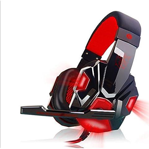 KLIM Gaming - Cascos auriculares Gaming con micrófono (con cable y clavija Jack)