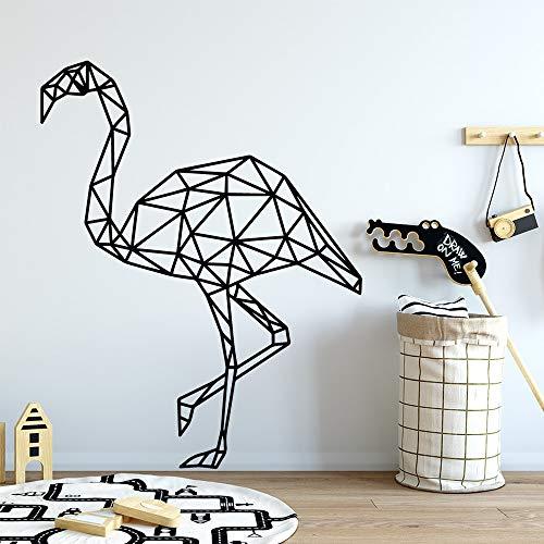Cartoon Stil geometrische Figur Selbstklebende wandaufkleber Kind Baby Zimmer natürliche Dekoration Vinyl wandtattoo 43 cm X 54 cm