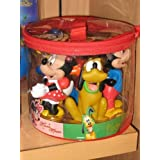 Disney Mickey Mouse and Friends Bath Pool Squeak Toys Set by disney