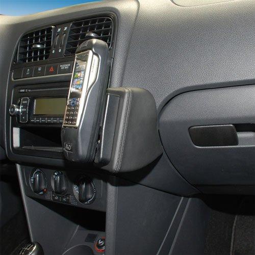 KUDA 096725 Halterung Kunstleder schwarz für VW Polo V (6R/6C) ab 06/2009 bis 2017 Iso Mount (iso-radios