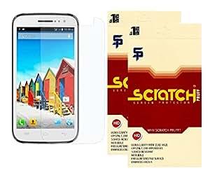 Scratch Pruff Matte Screen Guard For Micromax Canvas Lite A92 Pack Of 2