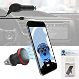 #9: iTALKonline BLU Life Mark 4G UK Black Multi-Directional Dashboard / Windscreen, Case Compatible (Use with or without your existing case!) Clip On Suction Mount In Car Holder with 1000 mAh MicroUSB In Car Charger with LED and overload protection
