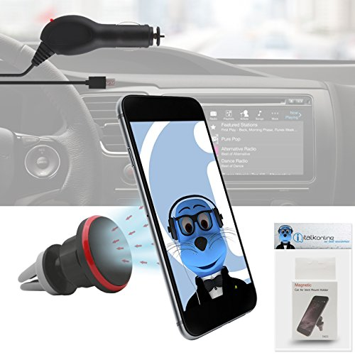 iTALKonline Nokia Asha 210 Black Multi-Directional Dashboard / Windscreen, Case Compatible (Use with or without your existing case!) Clip On Suction Mount In Car Holder with 1000 mAh MicroUSB In Car Charger with LED and overload protection  available at amazon for Rs.565