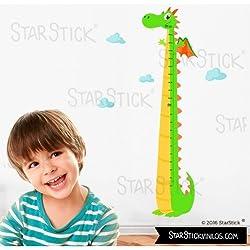 StarStick - Medidor dragón - Vinilos infantiles