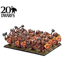 Kings of War: Dwarf Ironclad Regiment (20) by Mantic Games