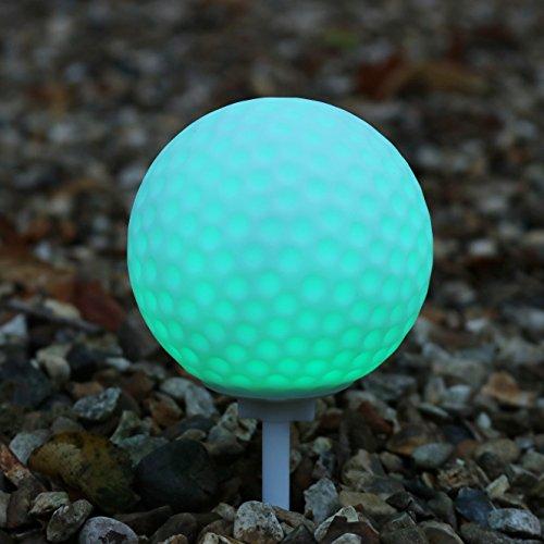LED-Licht Golfball Tee für Garten, Außenbereich, Wasserdichtes Licht mit Farbwechsel von PK Green