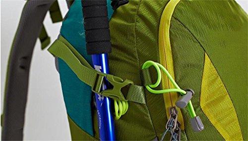 zaino trekking borsa a tracolla uomini e donne borsa arrampicata all'aperto di viaggio Sport Escursionismo pesanti fardelli zaino grande capacità Zaini da escursionismo ( Colore : Cielo blu , dimensio Cielo blu