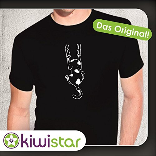 kiwistar-t-shirt-basic-maniche-corte-uomo-nero-nero