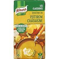 Knorr Soupe Douceur de potiron châtaigne La brique de 50cl - Prix Unitaire - Livraison Gratuit Sous 3 Jours