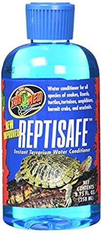 Zoomed Reptisafe Conditionner d'Eau pour Reptile/Amphibien 258 ml