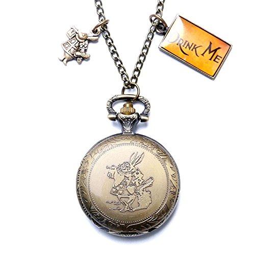 Favorito Collana con orologio da tasca di Alice nel paese delle meraviglie  RO76