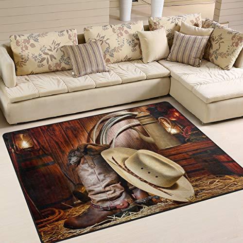 Use7 Teppich, traditionell, amerikanischer West, stilvoll, f¨¹r Wohnzimmer, Schlafzimmer, Textil, Mehrfarbig, 203cm x 147.3cm(7 x 5 feet) (Traditionelle Teppiche 5x7)