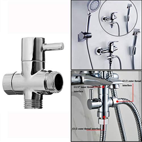 Yongse G1/2 Badezimmer Eckventil für Dusche Kopf Wasser Separator Brause Ventil wechseln
