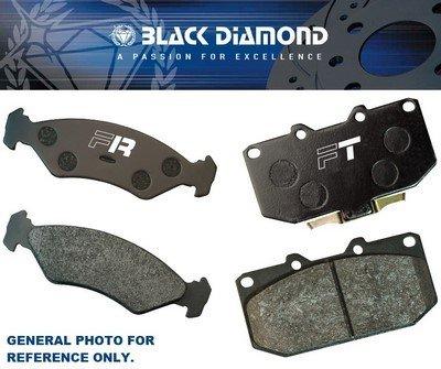 COMPRIMÉS DE FREIN BLACK DIAMOND MITSUBISHI 3000GT (GTO) 3.0 V6 TWIN TURBO (Z16A)(296MM DISC) 8I92-99 AVANT