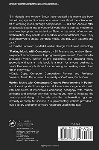 Making Music with Computers: Creative Programming in Python (Chapman & Hall/CRC Textbooks in Computing)