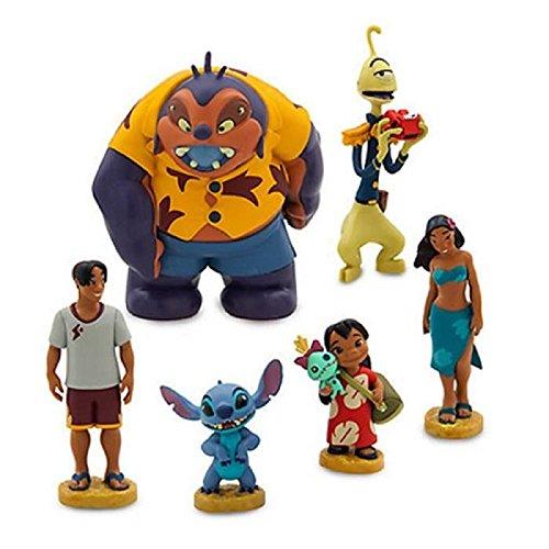 Offizieller Disney Lilo & Stitch 6 Figurenspieler