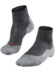 FALKE TK 5 Ultra - Calcetines de senderismo para mujer, tamaño 37 - 38, color asfalto