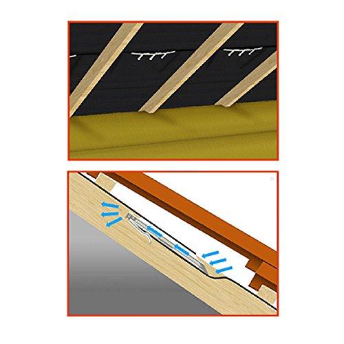 Felt Lap Vent Stops Loft roof Condensation / Attic Space Ventilation Airflow by SmartHome
