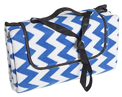 Allwa Extra-Large 175x200cm Couverture de pique nique étanche à l'eau - Tapis de plage facile à plier - Idéal pour aller à la plage en famille, en voyage ou en camping