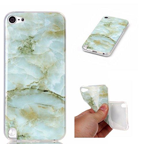 Sshhuu custodia ipod touch 5/6th, ultra magro [marmo modello] gel silicone flessibile morbido in gomma tpu anti-graffio e anti-impronte cover per apple ipod touch 5 / ipod touch 6 (4.0