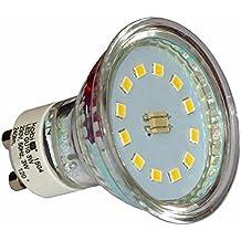 10pieza Juego de bombilla reflector lámpara LED 3W GU10Blanco Frío LED Foco Bombilla Lámpara de 10pack Kobi