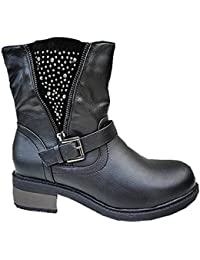 Amazon.fr   fashionfolie - fashionfolie   Bottes et bottines ... 4a437d11fa79