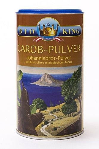 BioKing 5 x 200g BIO CAROB-Pulver, Johannisbrot-Pulver (EUR 2,89 / Dose)