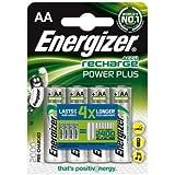 Energizer Accu Lot de 4piles AA rechargeables 2000mAh